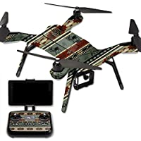 Skin For 3DR Solo Drone – Cabin Stripes | MightySkins Protective, Durable, and Unique Vinyl Decal wrap cover | Easy To Apply, Remove, and Change Styles | Made in the USA