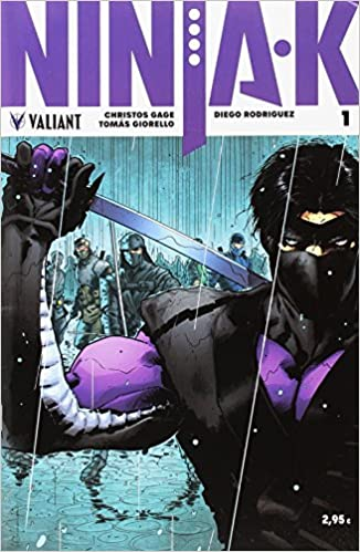 Ninja-K 1 (Valiant - Ninja-k): Amazon.es: Christos Gage: Libros