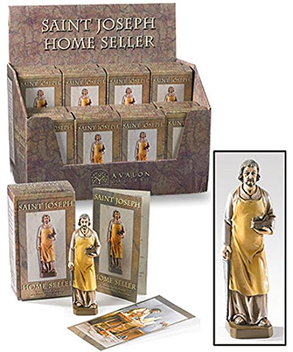 Saint St Joseph Home Seller Kit, Case of 16 by Religious Gifts