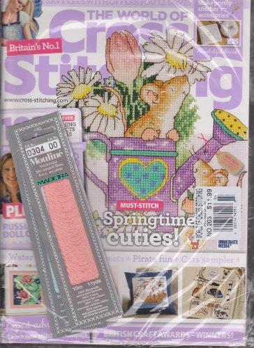 (The World of Cross Stitching Magazine Number 203)