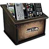 Fan Creations N0765-SEA Seattle Seahawks Woodgrain Media Organizer, Multicolored