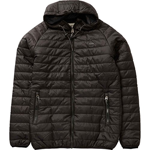 Billabong Men's All Day Puffer Jacket, Black, Medium
