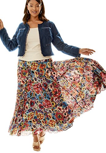 Jessica Floral Skirt - 2