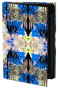 Keka UK Luca Johnson Designer Classic - Funda rígida tipo libro para iPhone 4 y 4S, diseño caleidoscópico