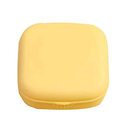 a62fa6d59cf Image Unavailable. Image not available for. Color  Plastic Contact Lens  Case Travel Glasses Contact Lenses Box Eyewear Accessories ...