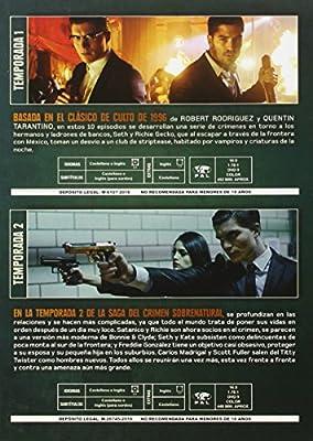 Pack Abierto Hasta El Amanecer Temporada 1+2 [DVD]: Amazon.es: Zane Holtz, D.J. Cotrona, Don Johnson, Robert Rodriguez, Zane Holtz, D.J. Cotrona: Cine y Series TV