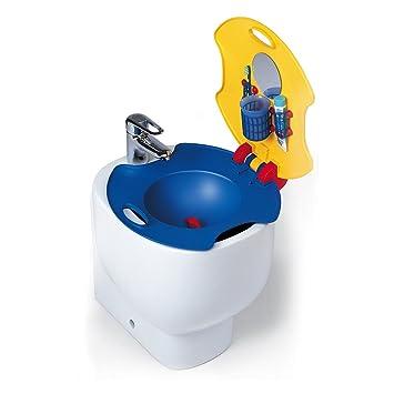 Foppapedretti Dino Lavabo infantil para bidé Amarillo rojo azul