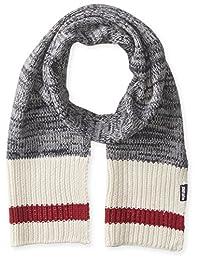 Muk Luks Men's Marl Sock Stripe Basic Scarf