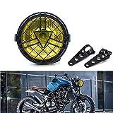 Universal Motorcycle Headlight, 6'' Halogen Head