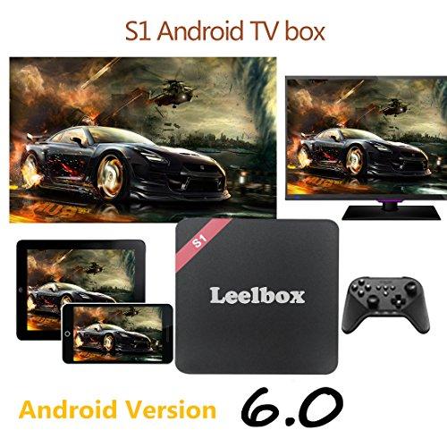 Pure Version] Leelbox S1 Android 6 0 TV Box S905X 1GB/8GB/WIFI 2 4