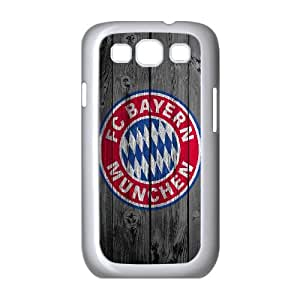 Samsung Galaxy S3 9300 Cell Phone Case White_custom Wood Bayern Munchen Vngpz
