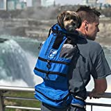 K9 Sport Sack FLEX | Dog Carrier Backpack For Small and Medium Pets| Foward Facing Adjustable Zippers for Size | Veterinarian Approved Safe Pack For Travel