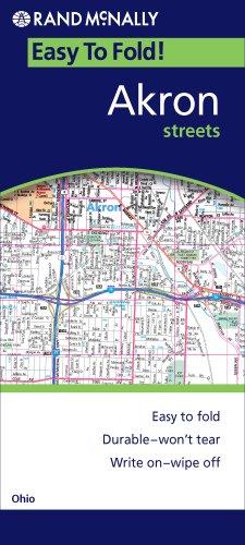 Download Rand McNally Easy to Fold! Akron Streets, Ohio pdf