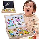 Dickin New Children Easel Magnetic Doodle Fantastic Wooden Drawing Blackboard Toy Taste Panel