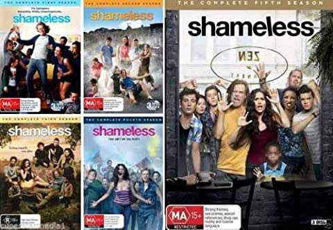 Shameless: Complete Seasons 1 - 5 Collection (15-Disc, 2015, DVD) (Shameless Complete Series Dvd)
