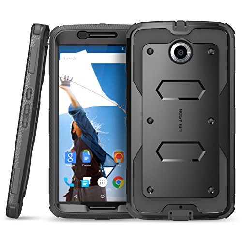 new arrivals 20d99 2df2c Nexus 6 Case, [Heave Duty] **Slim Protection** i-Blason Google Nexus 6  Phone Case Armorbox [Dual Layer] Hybrid Full-body Protective Case with  Front ...