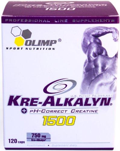 Olimp Kre-Alkalyn 1500 Mega Caps, 120 Kapseln