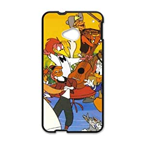 HTC One M7 Cell Phone Case Black Melody Time 003 KQ3440768