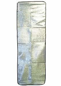 Highlander SM011 - Esterilla reflectante de calor, color plateado
