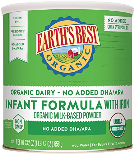 Earths Best Organic Formula without