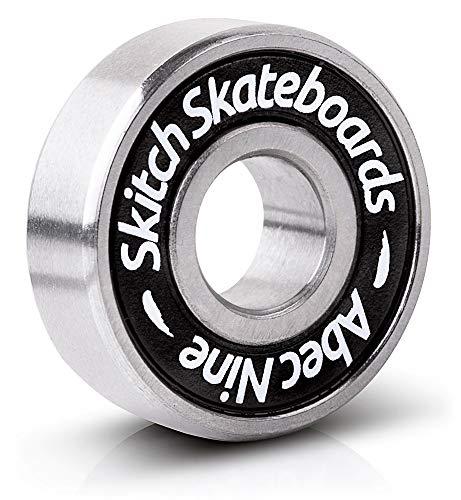 Skitch Pro Skateboard Bearings Set - Premium Long Spin ABEC