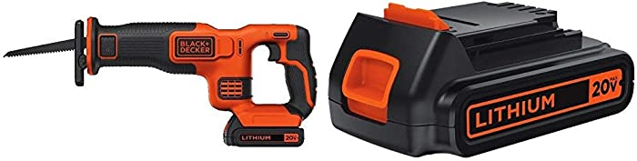 The Best Black And Decker 20V Reciprocating Saw Battery