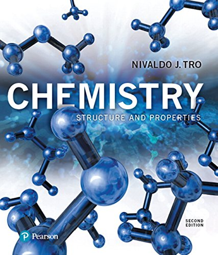 Modified Mastering Chemistry with Pearson eText -- Standalone Access Card -- for Chemistry: Structure and Properties (2nd Edition) (Access Chemistry Card)
