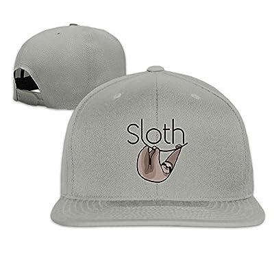 Yp Men' S Three Toed Sloth Bear Baseball Cap Ash - Sloth Caps