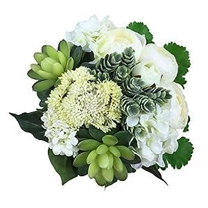 silk hydrangea flowers