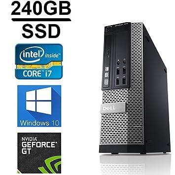 Dell Gaming Optiplex 990 Desktop Computer, Intel Core i7 3.4 upto 3.8GHz  2600 CPU 989b6c8b123d
