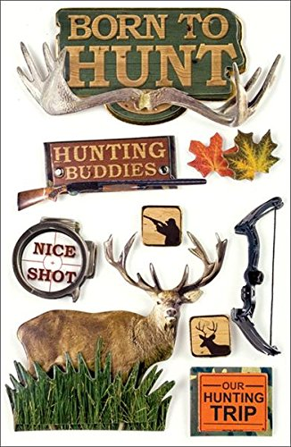 The 8 best hunting stickers for scrapbooking