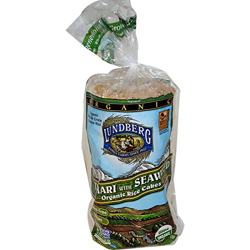 (Lundberg, Tamari with Seaweed Organic Rice Cakes, 8.5 oz (241 g) -)