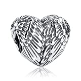 Kyпить Bamoer Love Heart Cheap Real Silver Charms for Bracelet Necklace Jewelry на Amazon.com
