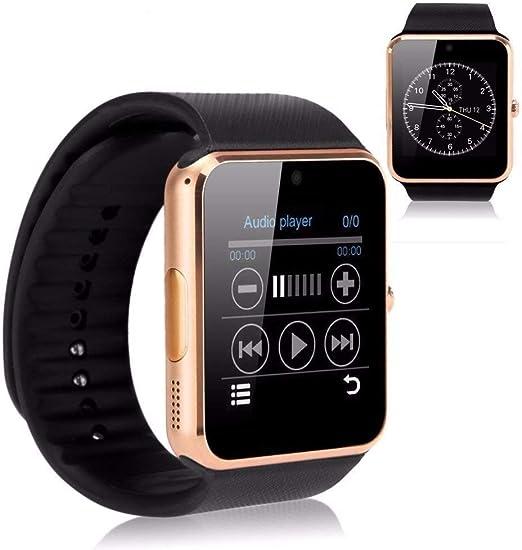 Reloj inteligente TOP-MAX GT08 con Bluetooth con ranura para ...