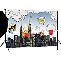 DULUDA 7X5FT Super City Vinyl Customized photography Backdrop Background studio prop WXL58