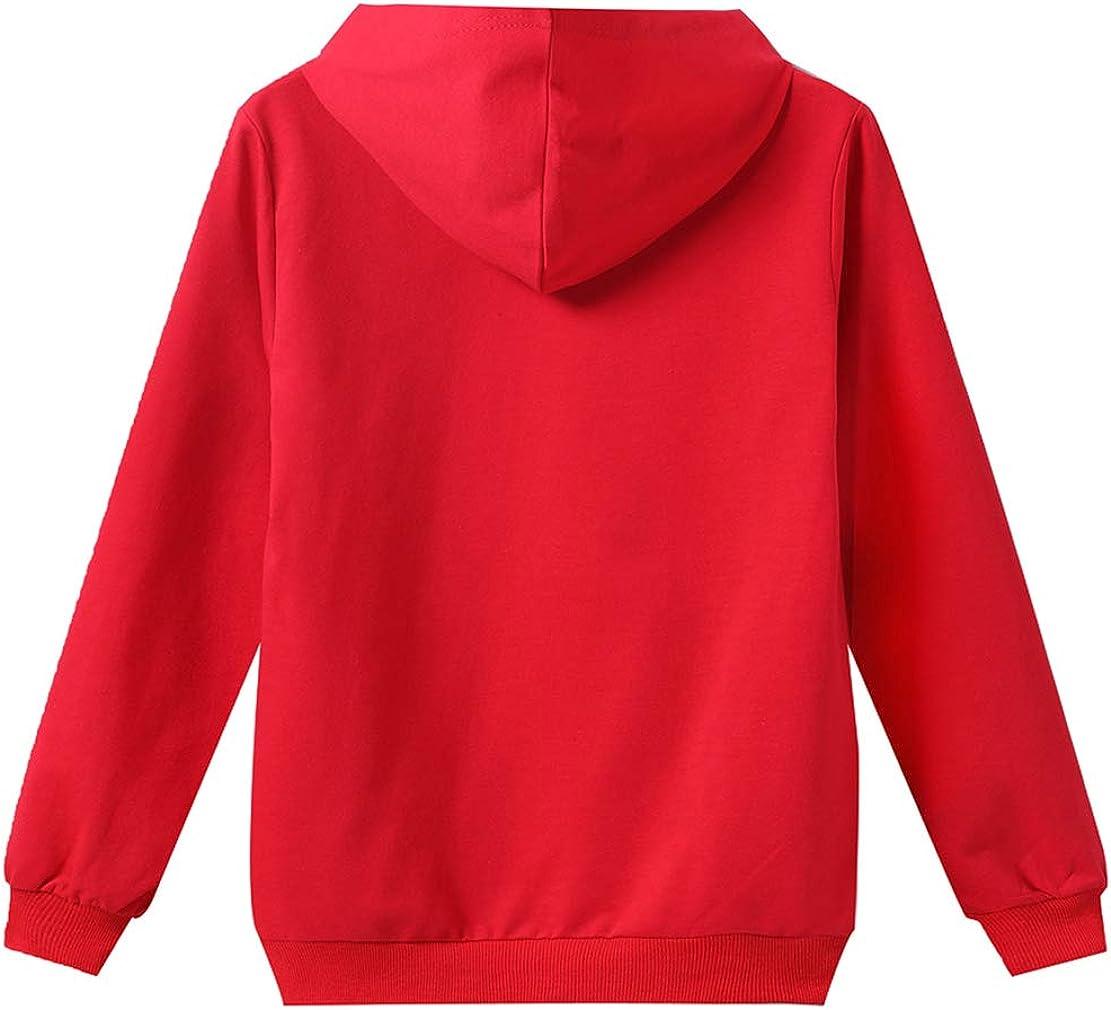 Sweat /à Capuche La CASA de Papel Costume Money Heist Enfant Sweatshirt Hoodies Dali Halloween Carnaval No/ël D/éguisement Vetement 6-14 Ans
