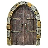 Cheap Giftcraft Outdoor Small Brown Gnome Fairy Doors Deck Patio Garden