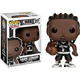 Funko Kawhi Leonard POP! Sports x NBA Vinyl Figure + 1 Official NBA Trading Card Bundle (21824)