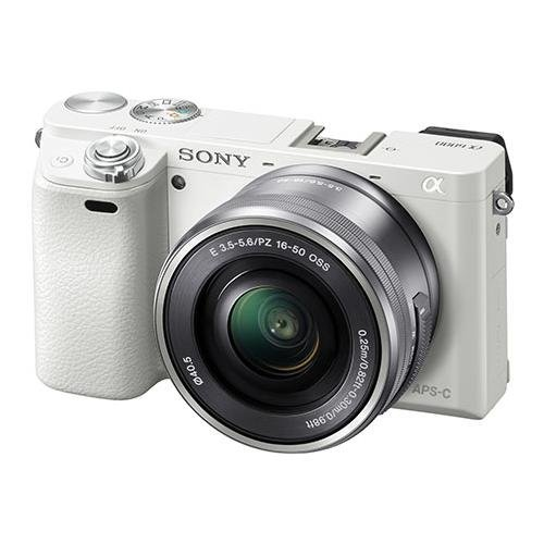 Sony Alpha a6000 Mirrorless Digital Camera with 16-50 mm Lens, 24 MP (Compact Sony Alpha Dslr)