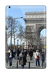 High Grade Valerie Lyn Miller Flexible Tpu Case For Ipad Mini/mini 2 - City Of Paris