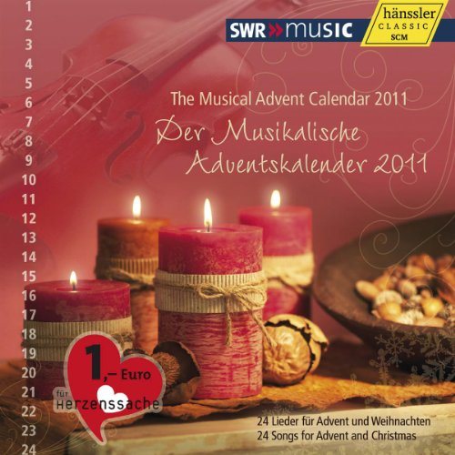 2011 Desk Pad Calendars - Musical Advent Calendar 2011