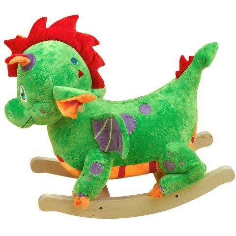 - Rockabye Poof the Lil' Dragon Rocker, One Size