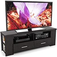 Sonax B-101-RBT Bromley 60-Inch TV/Component Bench in Ravenwood Black