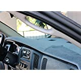 Angry Elephant Cinder Carpet Dashboard Cover - 1998-2001 Dodge Ram all models. Custom Fit Keeps Vents & Airbags Unobstructed, Easy Installation, Won't Break Headlights or Climate Sensors