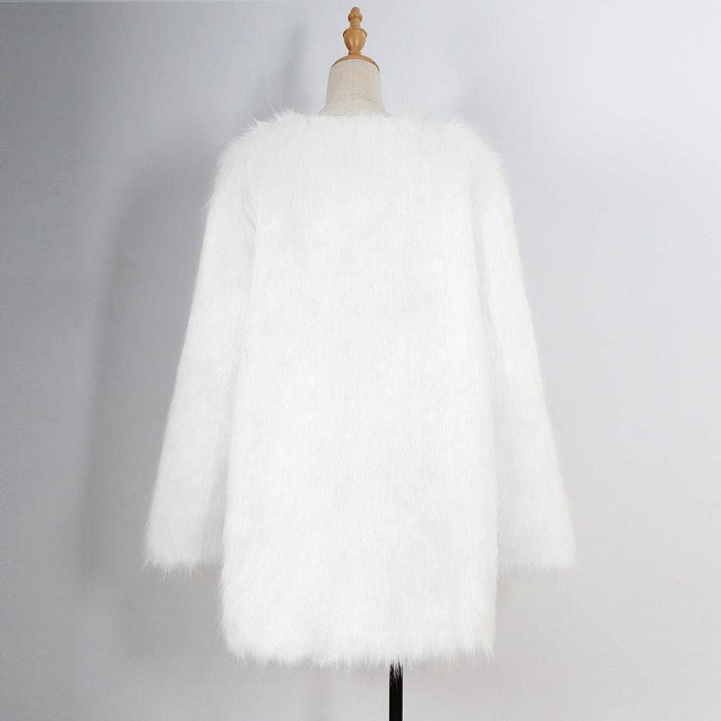 Resplend Frauen Casual Langen Mantel Langer Pelzmantel Der Modernen Frauen Damen Mantel Jacke Winterwarmer Parka Outwear