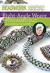 Join expert Marcia DeCoster and learn the fundamentals of right-angle weave. From learning the basic thread path, to stitching difficult variations including cubic right-angle weave, this workshop DVD is a must-have resource! ...