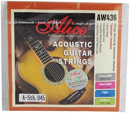 Alice tamaño mediano cadena hexagonal Core 5ª Folk/guitarra ...