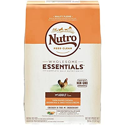 Nutro WHOLESOME ESSENTIALS Adult Dry Dog Food - Chicken, Brown Rice & Sweet Potato