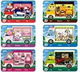 6pcs NFC Cards for Animal Crossing Sanrio NFC