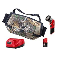 Milwaukee M12 12-Volt Lithium Ion Cordless Heated Hand Warmer with LED Work Light Kit